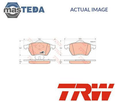 TRW FRONT BRAKE PADS SET BRAKING PAD GDB1204 P NEW OE REPLACEMENT